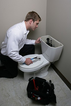 Plumber with Toilet 6