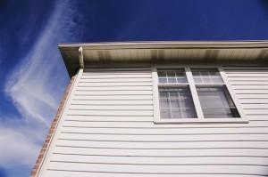 Upstairs Window of House