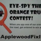 Eye Spy the Orange Truck Contest 2010