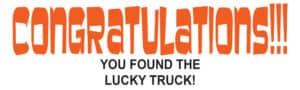 congratulations-lucky-truck