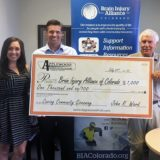 Brain Injury Alliance of Colorado donation