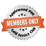 applewood gold service club badge
