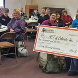 Applewood Plumbing's $1,000 giveaway goes to All Comforting Things of Colorado, Inc.