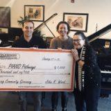 Applewood Awards $1,000 to Piano Pathways of Colorado