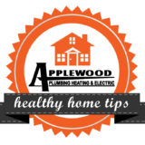 Applewood Healthy home tips badge