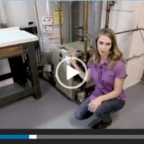 Woman describes how a furnace works